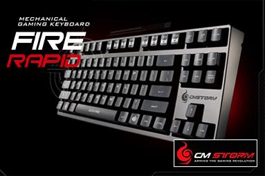 Návrat mechanických klávesnic v režii Cooler Master