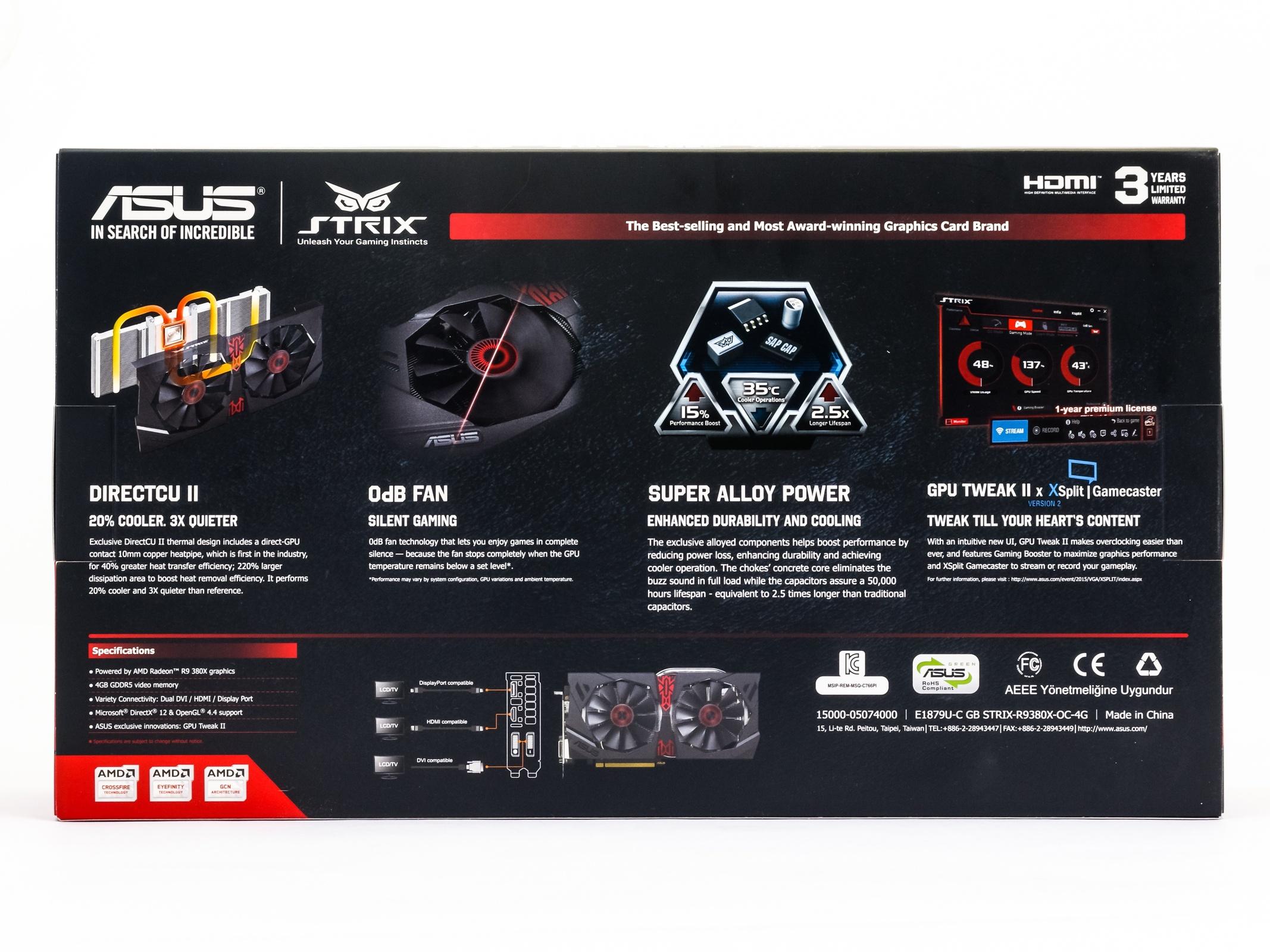 Asus R9 380X STRIX v testu: Když grafiky za šest nestačí