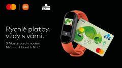 Xiaomi Mi Smart Band 6 NFC přináší do Česka bezkontaktní placení za 1 299 korun