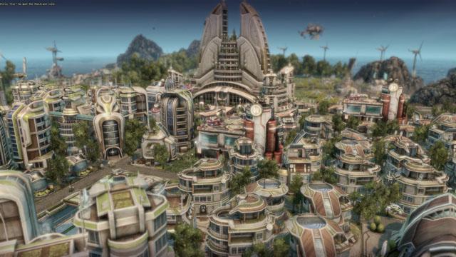 Návyková Anno 2070 — budovatelská kráska z budoucnosti
