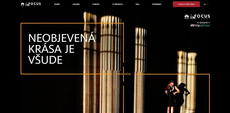V soutěži Huawei InFocus Awards můžete vyhrát čtvrt milionu korun
