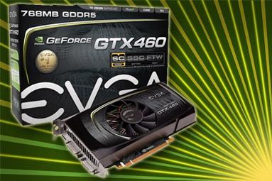 EVGA GTX 460 SC 768 – Přetaktovaná edice v akci