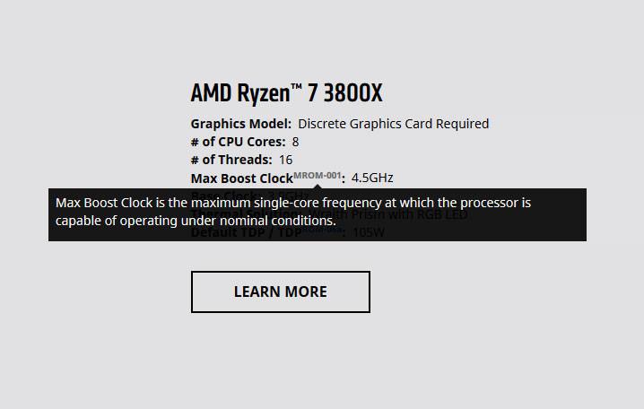 AMD lhalo o boostu a TDP Ryzenů 3000, snaží se to napravit!