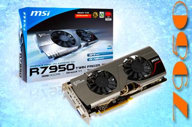 MSI HD 7950 3GB TF OC – super taktování i tiché chlazení