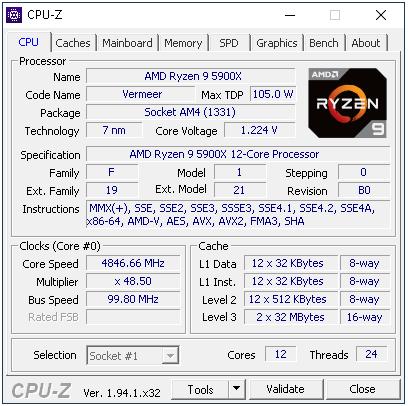 AMD Ryzen 9 5900X: Dvanáct jader Zen 3 v testu