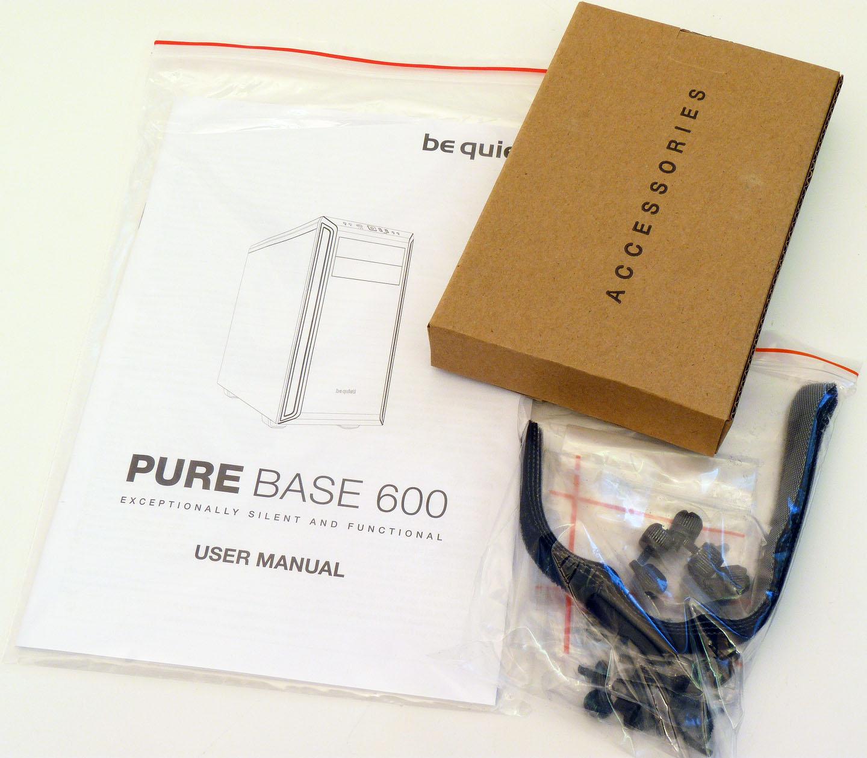 Pure Base 600 Black: nejmenší skříň od be quiet!