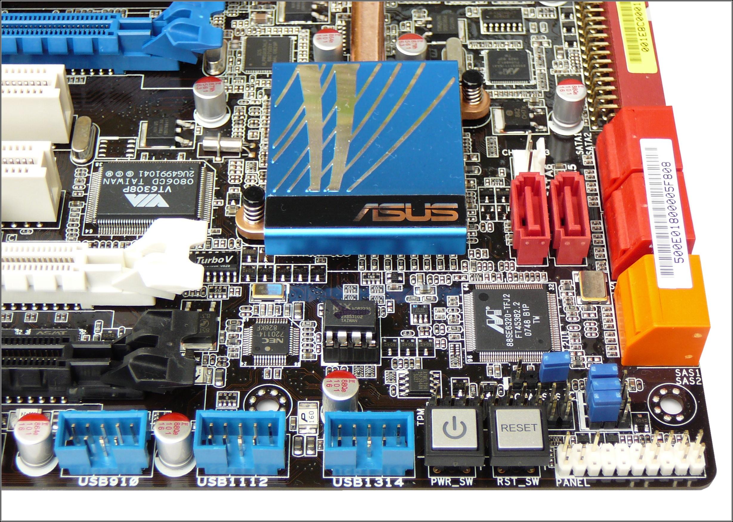 2x Asus s X58 Express - High-end a Extrém