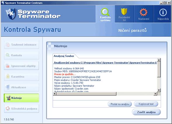 Spyware Terminator a ti druzí - chraň svůj počítač!