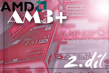 Velký test microATX desek pro procesory AMD – II. díl
