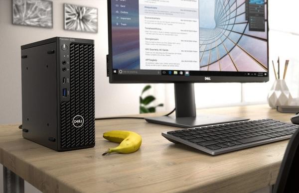 Dell má kompaktní pracovní stanici Precision 3240 Compact