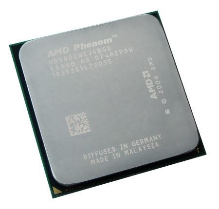 AMD Phenom 9600 Black Edition - test přetaktování