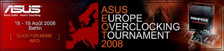Asus šampionát v přetaktování - Berlín 2008