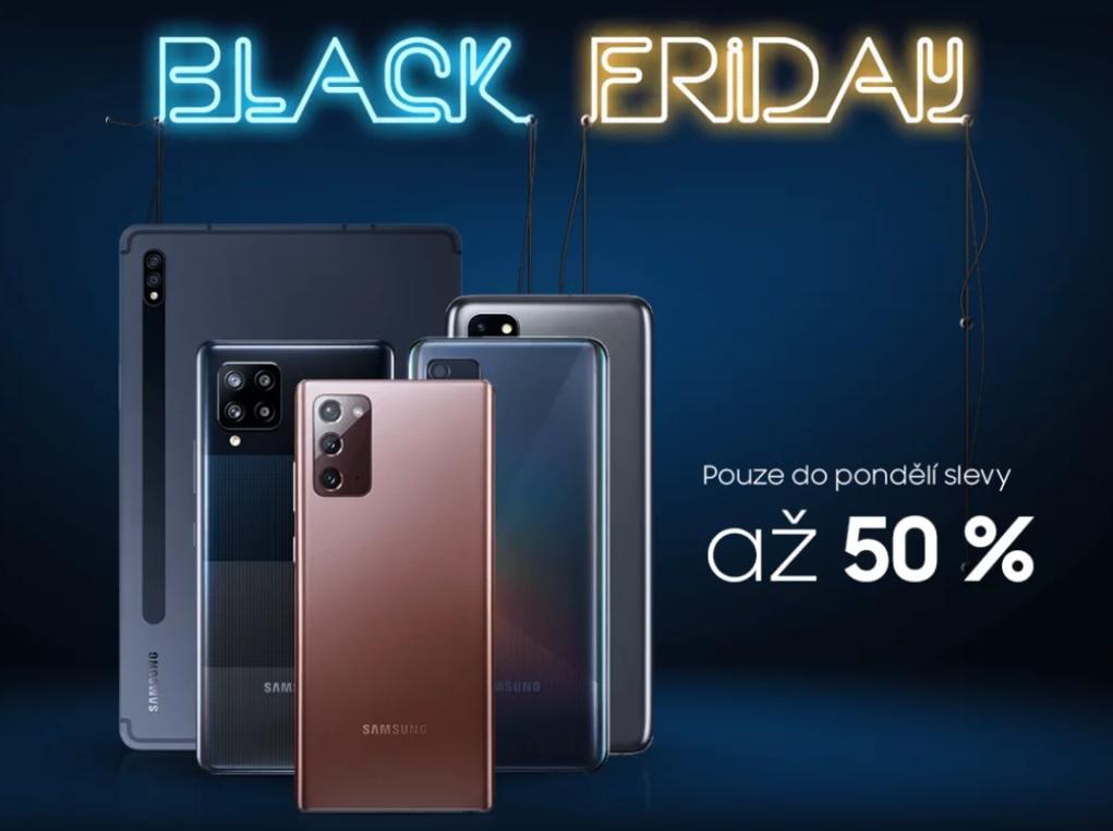Samsung spustil výhodný Black Friday