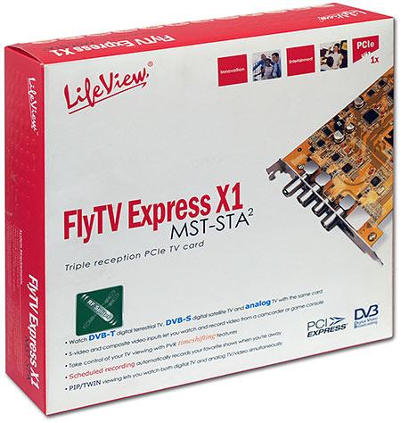 3x televize + 1x rádio: FlyTV Express X1 MST-STA2
