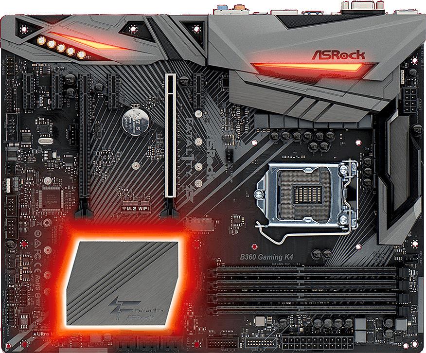 Základní deska ASRock Fatal1ty B360 Gaming K4