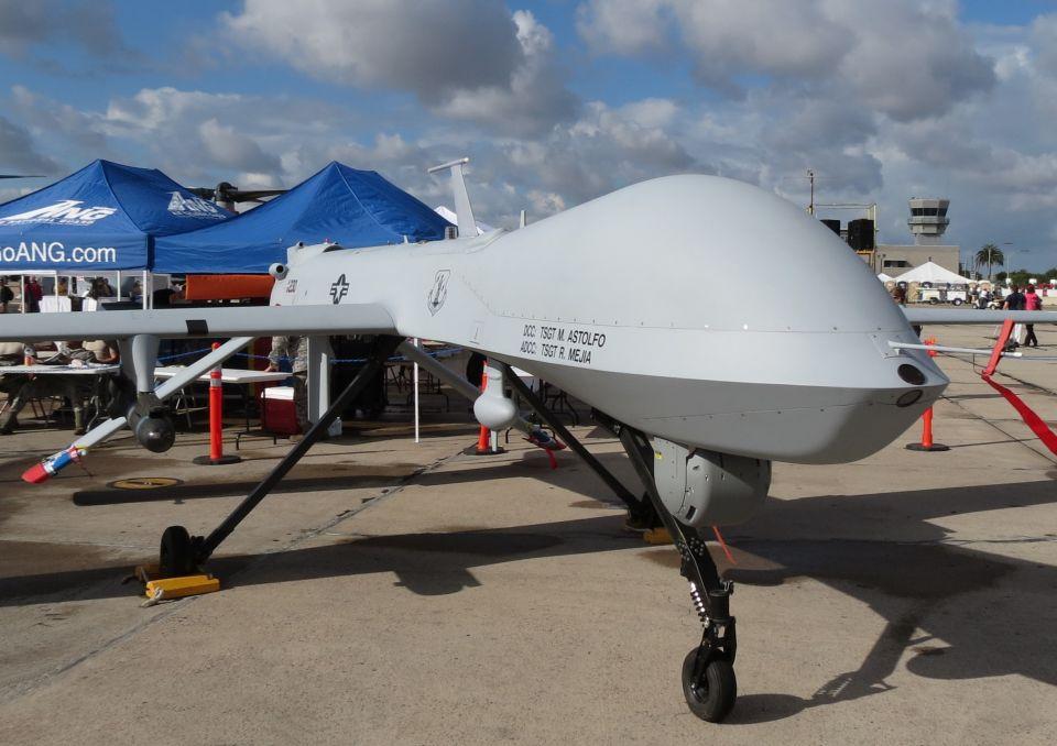 Predator drone, Miramar MCAS, California / 2012 By Greg Goebel from Loveland CO, USA - Ywprd_1b, CC BY-SA 2.0, Link