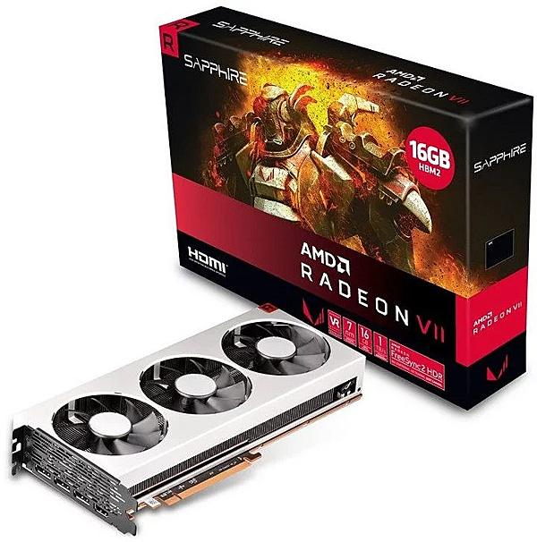 Grafická karta AMD Radeon VII – Sapphire Radeon VII 16G HBM2