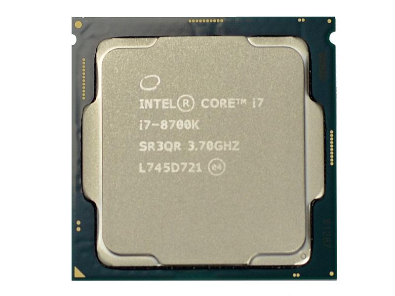 Test Intel Core i7-6700K, i7-8700K a AMD Ryzen 7 1700X