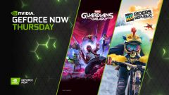 GeForce NOW vítá Marvel's Guardians of the Galaxy a Riders Republic