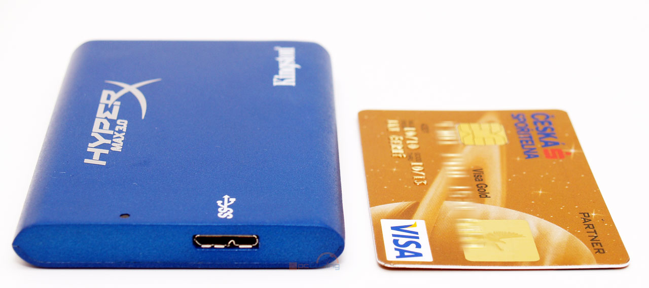 Kingston HyperX MAX 3.0 – externí SSD na rychlém USB 3.0
