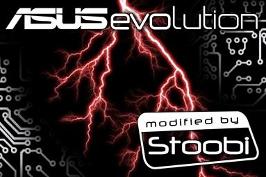 ASUSevolution - skříň podle Republic of Gamers