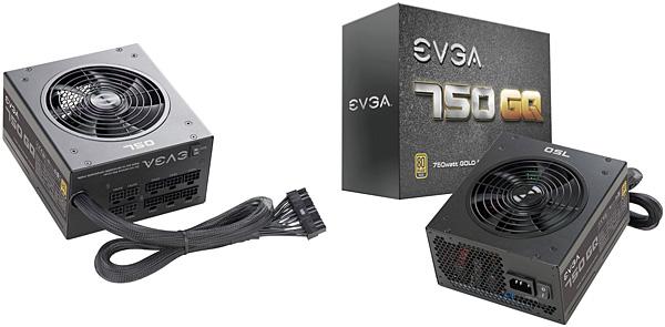 Napájecí zdroj EVGA 750 GQ