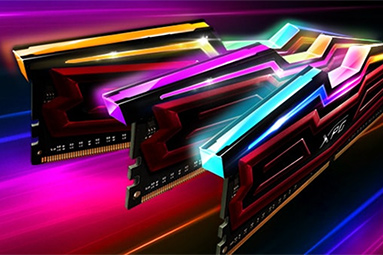 Test pamětí DDR4 Adata Spectrix: 32 GB s RGB LED pro Aura