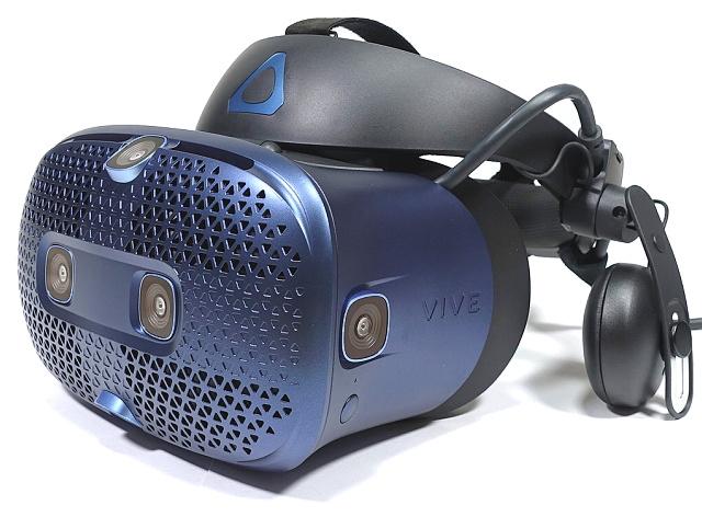 HTC Vive Cosmos – Labutí píseň pro VR na PC