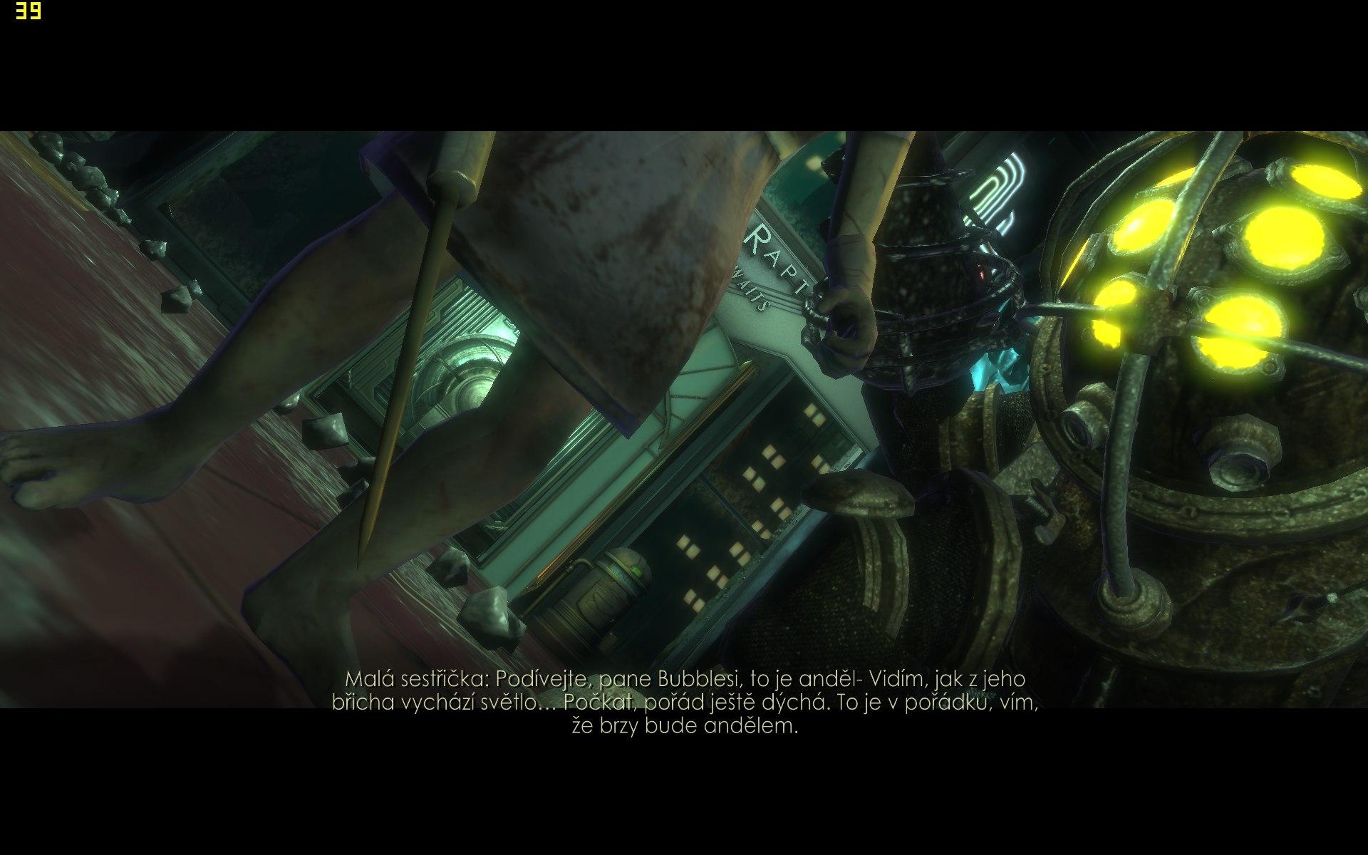 Hra Bioshock - výkon a nastavení kvality obrazu