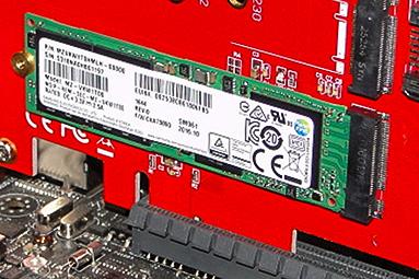 Samsung SM961 (512 GB + 1 TB): výkon bez konkurence