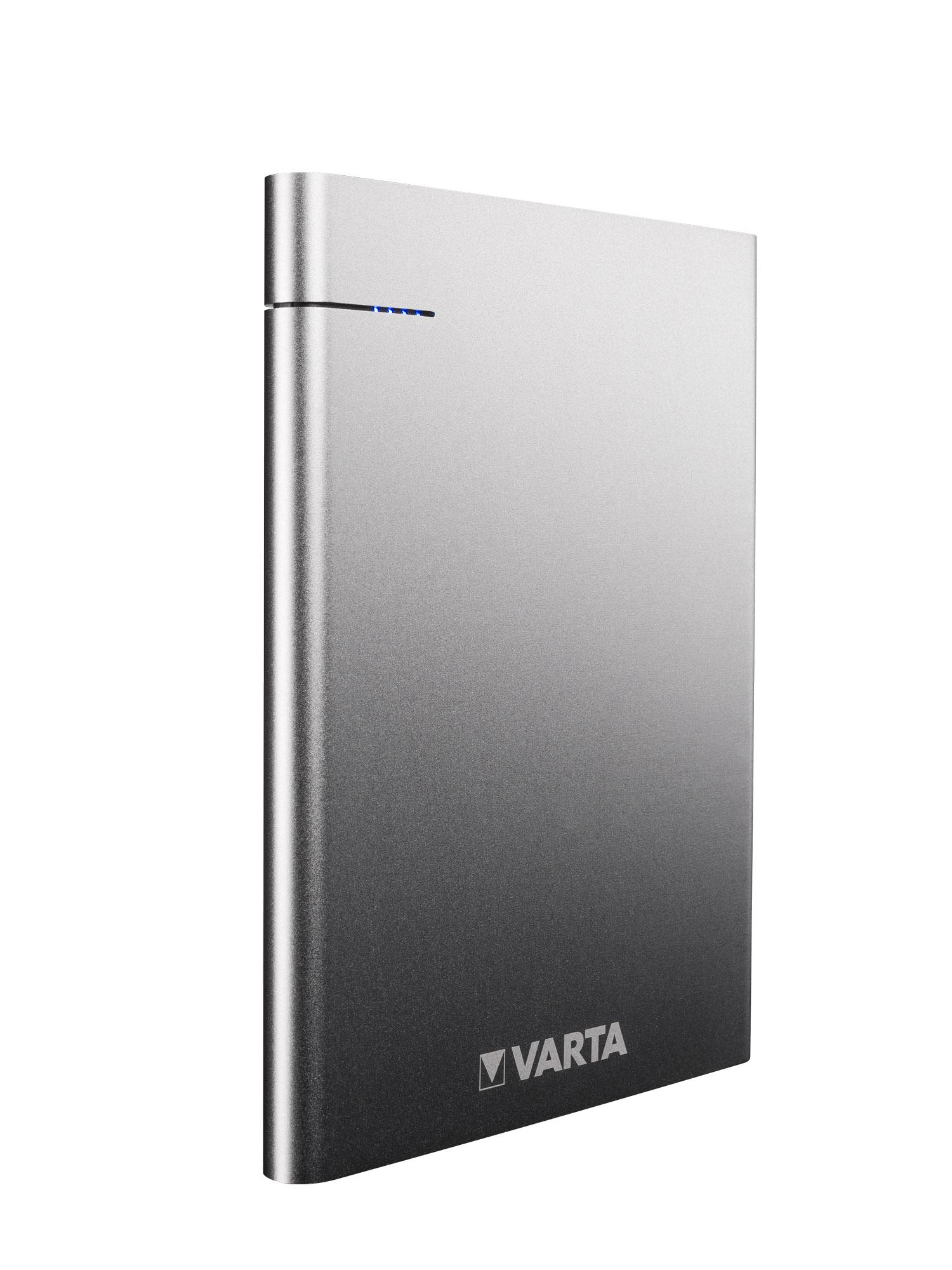 Varta Slim Power Bank má USB-C a stylový design