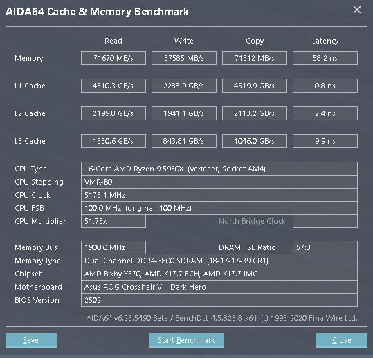 Přetaktování pamětí na 3800 MHz