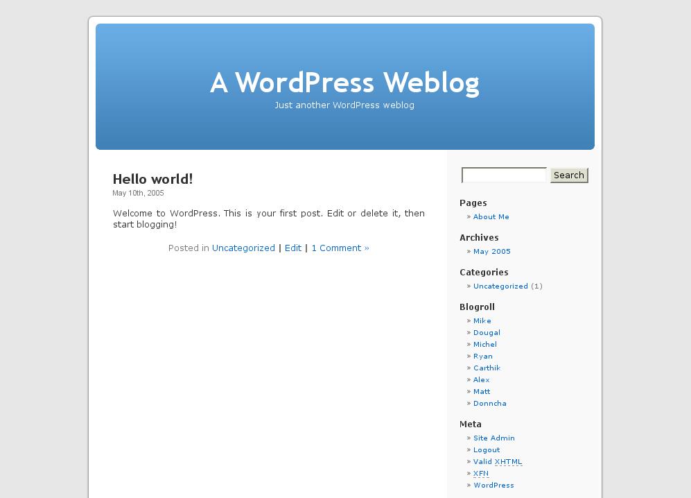 WordPress - jednodušší už to být nemůže