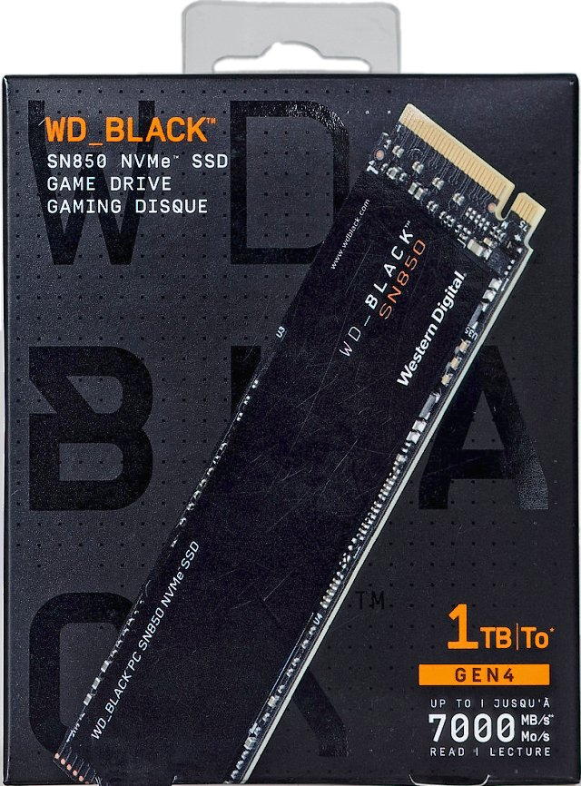 WD_Black SN850 1 TB: Nejvýkonnější M.2 SSD na trhu