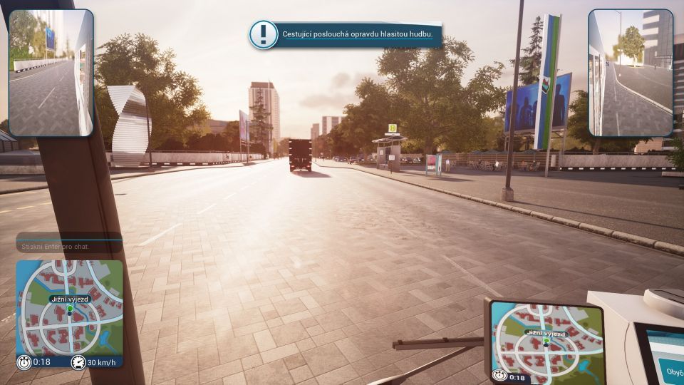 Bus Simulator 2018 – brzda, plyn a hlavně neusnout