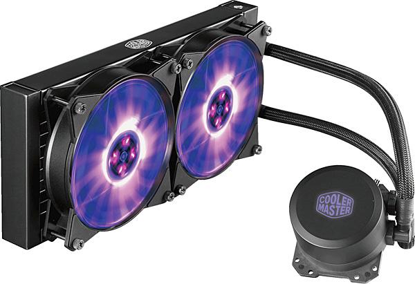 Chladič procesoru CoolerMaster MasterLiquid ML240L RGB