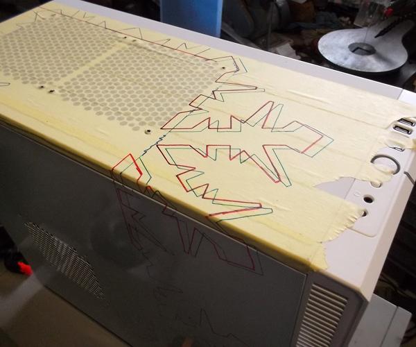 Fractal Design Define R4 k nepoznání: Stoobiho Snowflake