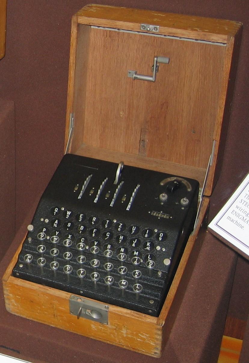 Enigma G v National Cryptologic Museum (Zdroj:Wikimedia Commons, photo:Austin Mills)
