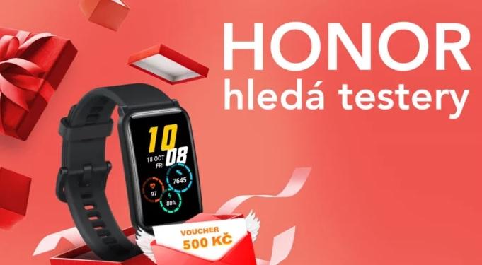 Honor hledá testery pro fitness hodinky Watch ES. Neodejdou s prázdnou