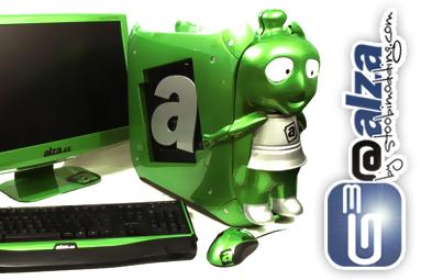 Projekt G3@Alza – skříň se zeleným ufounem na míru!