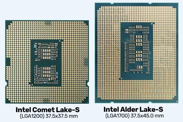 Srovnání procesorů (zdroj: Internet)