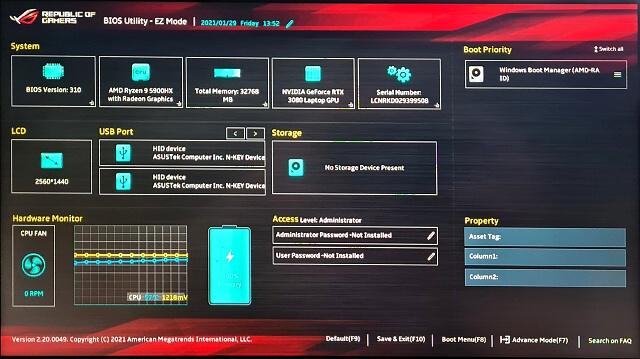 ASUS ROG Strix SCAR 15 G533: Ryzen 9 5900HX s RTX 3080