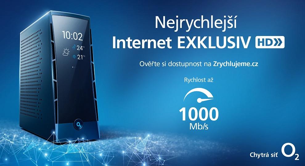 O2 nově nabízí připojení na doma s rychlostí až 1 000 Mb/s