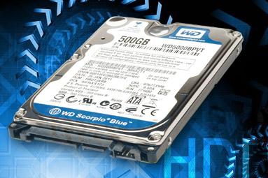 Srovnávací test notebookových pevných disků