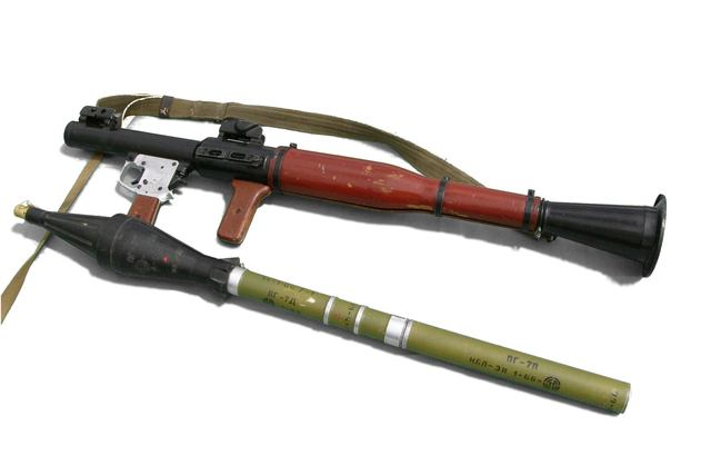 """""""RPG-7 detached"""" by Michal Maňas - Own work. Licensed under CC BY 2.5 via Wikimedia Commons."""