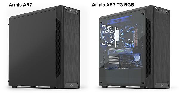 Počítačová skříň SilentiumPC Armis AR7 TG RGB