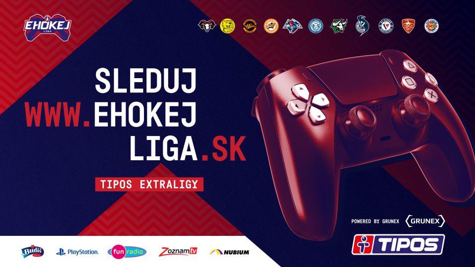 Startuje EHOKEJ Liga TIPOS Extraligy. Pojďte si zahrát o 15 000 EUR!