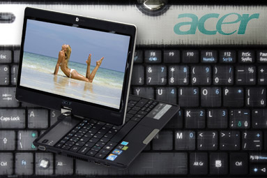 Acer Aspire 1825PT — dostupný tablet s odpovídající výbavou