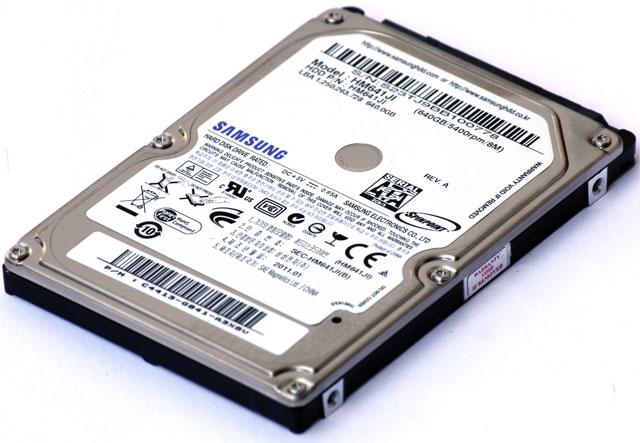 """PCTuning Silver Award, únor 2011Samsung SpinPoint M7E HM641JI""""2,5"""" disk s nejlepším poměrem cena / výkon v testu"""""""