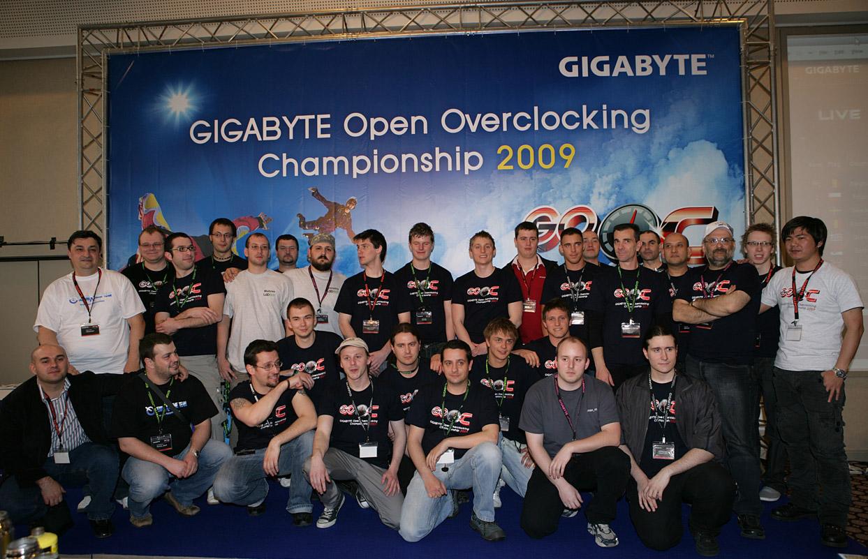 Gigabyte GOOC 2010 – největší OC soutěž světa startuje